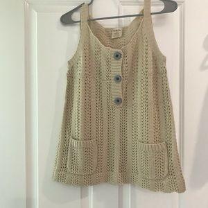 Matilda Jane Crochet Knit Tank
